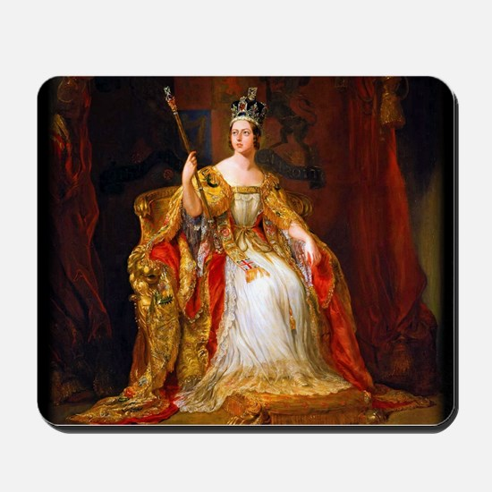 Queen Victoria Mousepad
