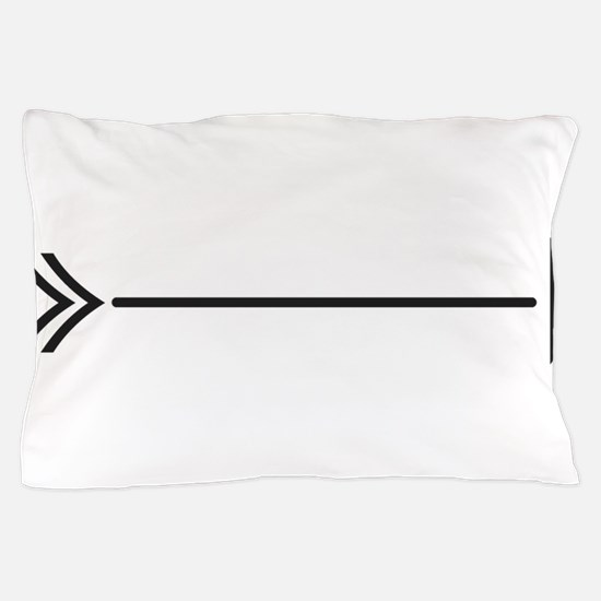 Fish Arrow Pillow Case