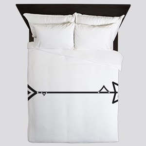 Fish Arrow Queen Duvet