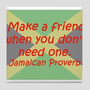 Make a Friend Tile Coaster