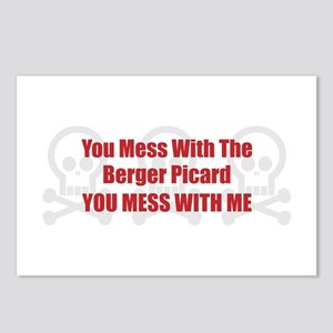 Mess With Berger Postcards (Package of 8)