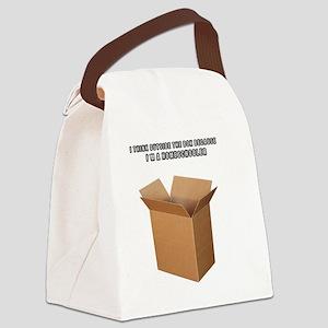 I'm a Homeschooler Canvas Lunch Bag