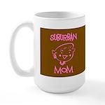 Suburban Mom Large Mug