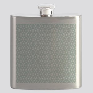 Modern Trellis Pattern Flask