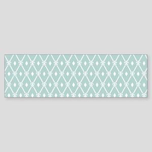 Modern Trellis Pattern Sticker (Bumper)