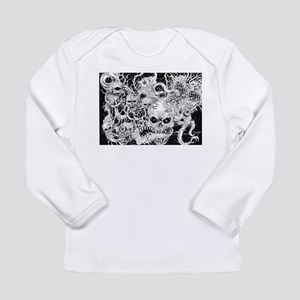 Evil Demon Spawn Illustration Long Sleeve T-Shirt