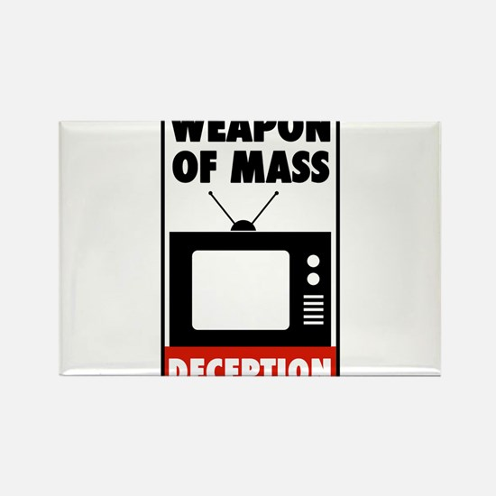 TV - Weapon of Mass Deception Magnets