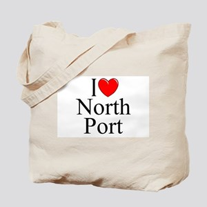 """I Love North Port"" Tote Bag"