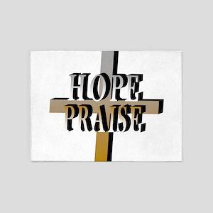 hope-praise 5'x7'Area Rug