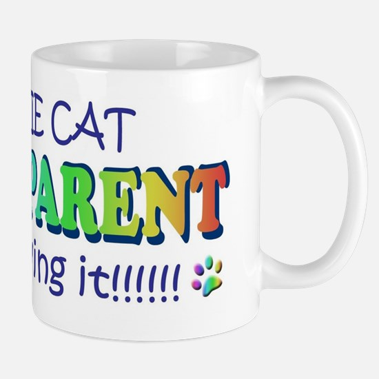 cat grandparents and loving it Mug