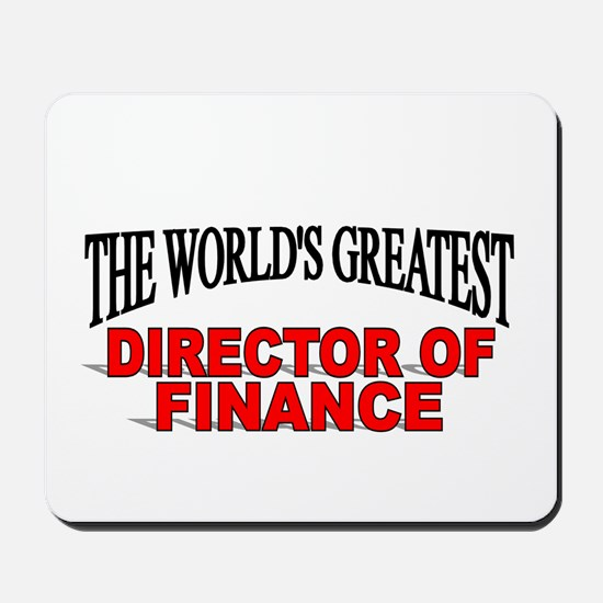 """""""The World's Greatest Director of Finance"""" Mousepa"""