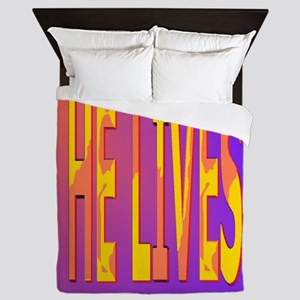 He lives Queen Duvet