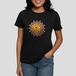 Decorative Sun Women's Dark T-Shirt