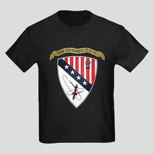 USS CHICAGO Kids Dark T-Shirt