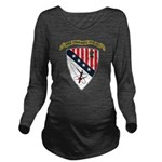 USS CHICAGO Long Sleeve Maternity T-Shirt