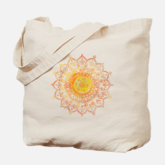 Decorative Sun Tote Bag