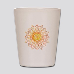 Decorative Sun Shot Glass