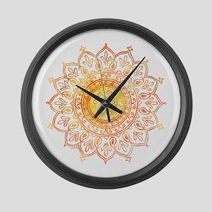 Decorative Sun Large Wall Clock