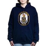 USS CROMMELIN Women's Hooded Sweatshirt