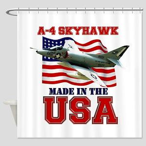 A-4 Skyhawk Shower Curtain