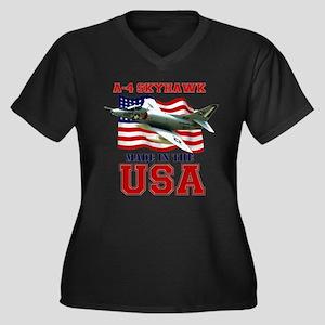 A-4 Skyhawk Plus Size T-Shirt