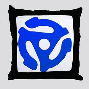 Record Adapter Throw Pillow