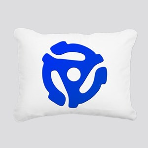 Record Adapter Rectangular Canvas Pillow