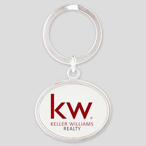 Keller Williams Realty Oval Keychain