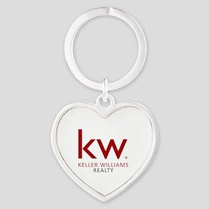 Keller Williams Realty Heart Keychain
