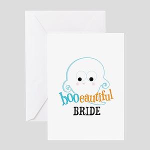 Booeautiful Bride Greeting Card