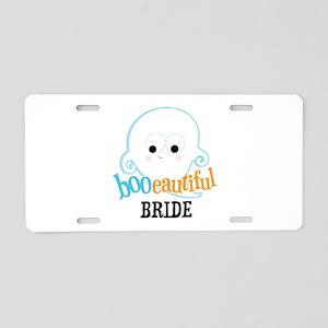 Booeautiful Bride Aluminum License Plate