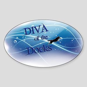 Diva Of The Docks Sticker