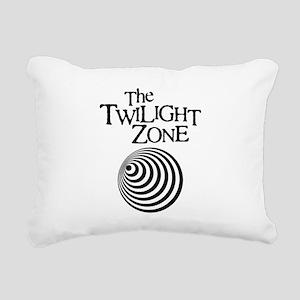 Twilight Zone Rectangular Canvas Pillow