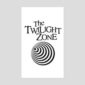 Twilight Zone Rectangle Sticker