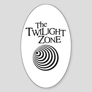 Twilight Zone Oval Sticker