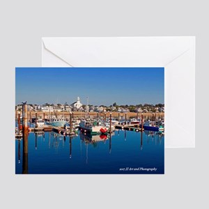 Provincetown Harbor Greeting Cards (pk Of 10)