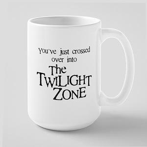 Into The Twilight Zone Large Mug
