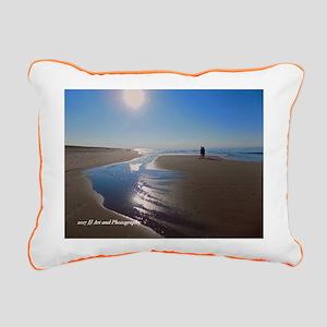 National Seashore Rectangular Canvas Pillow
