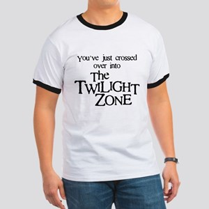 Into The Twilight Zone Ringer T-Shirt