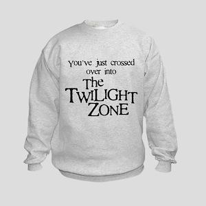 Into The Twilight Zone Kids Sweatshirt