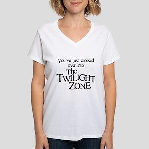 Into The Twilight Zone Women's V-Neck T-Shirt