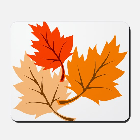 Fall Leaves Mousepad