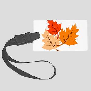 Fall Leaves Luggage Tag