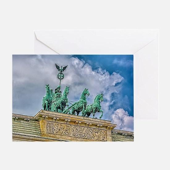Berlin's Quadriga Greeting Card