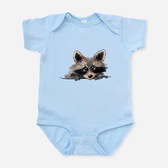 Pocket Raccoon Infant Bodysuit
