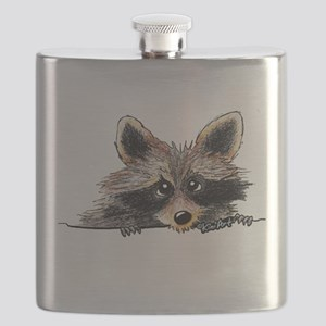 Pocket Raccoon Flask