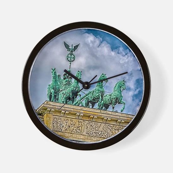 Berlin's Quadriga Wall Clock