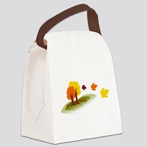 Fall trees Canvas Lunch Bag