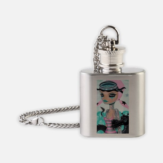 Diving Buddy Flask Necklace