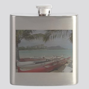 Diamond Head View Flask